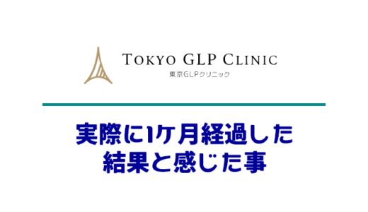 【楽ちん】GLP-1ダイエット1カ月続けた効果・気付きまとめ